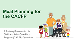 Meal Planning for the CACFP