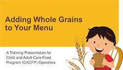 Adding Whole Grains to Your Menu