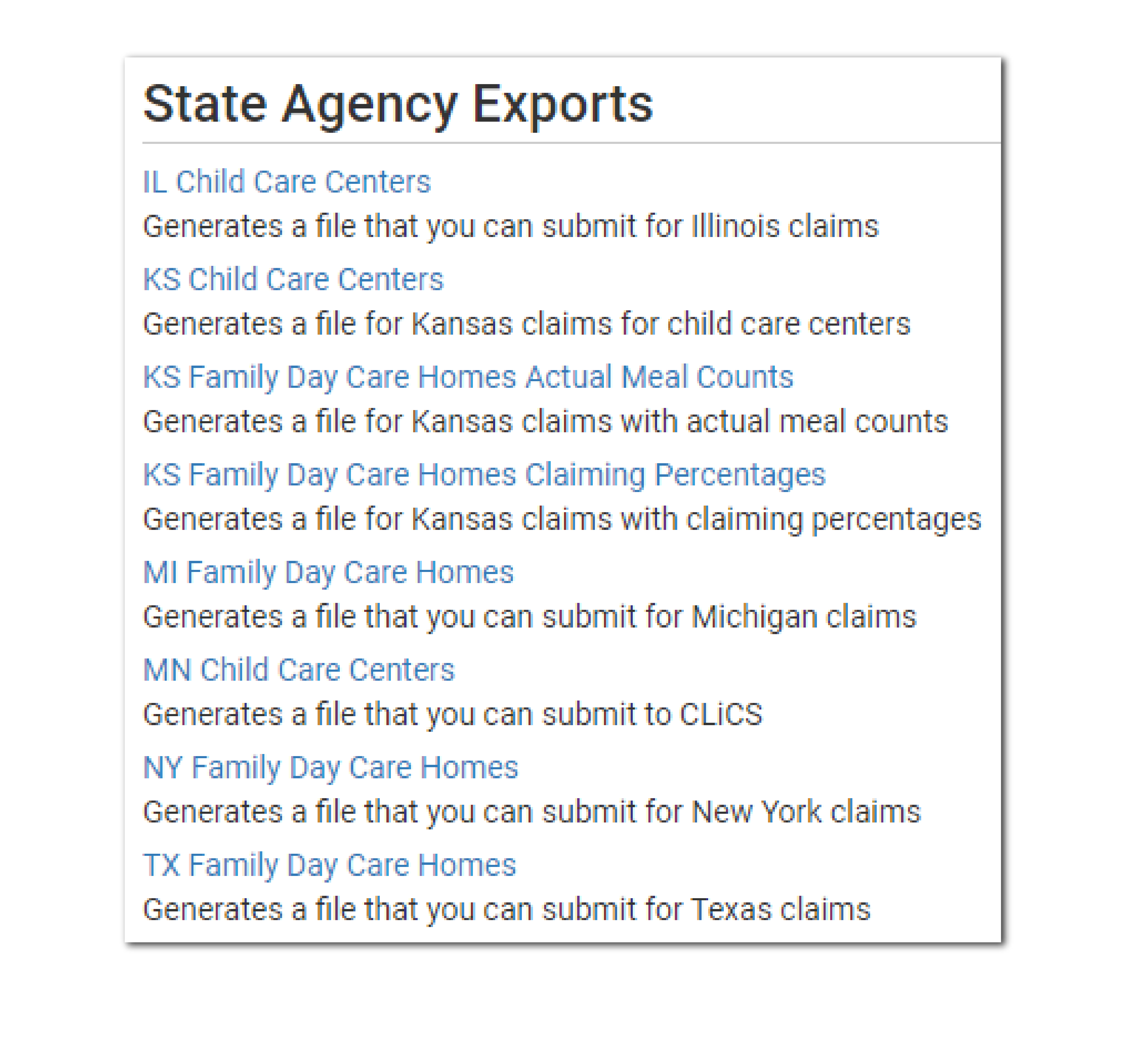 Software Update 2.3.6 State Claim File Section Screenshot