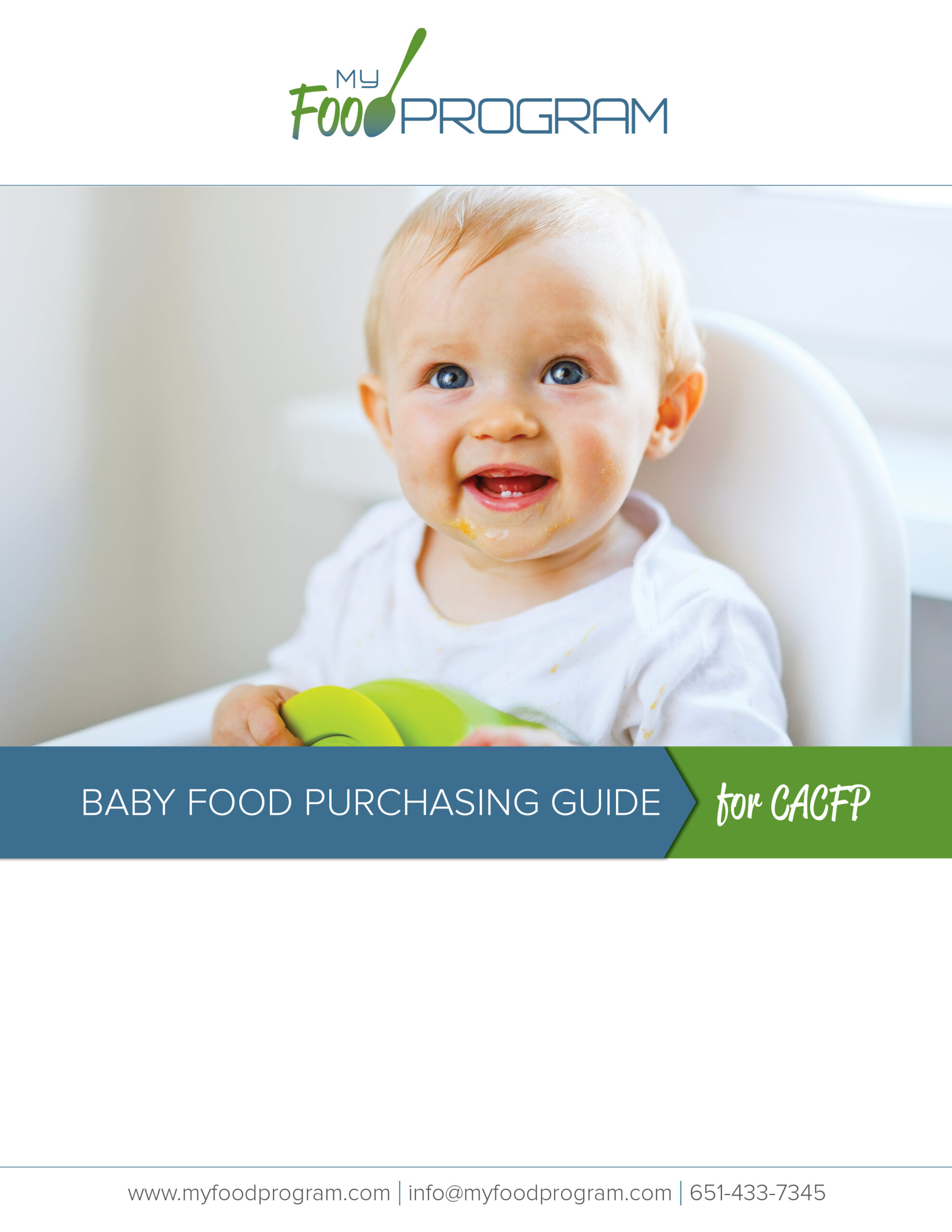 My Food Program Baby Food Purchasing Guide